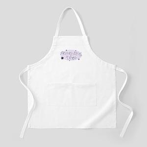Accounting Diva [purple] BBQ Apron